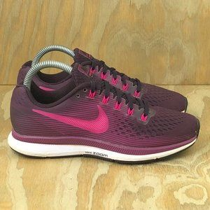 Nike Air Zoom Pegasus 34 Port Wine